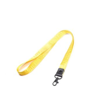 Auto Finesse - Luxury Embossed Lanyard Long Yellow