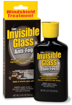 Invisible Glass - Anti-Fog Windshield Treatment