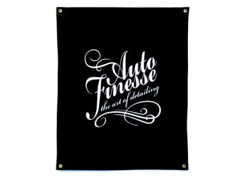 Auto Finesse Wall Flag