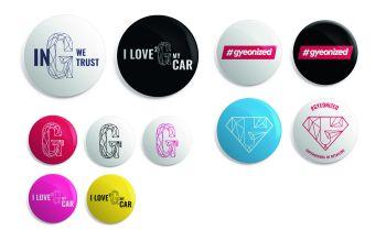 Gyeon - Mix of GYEON badges