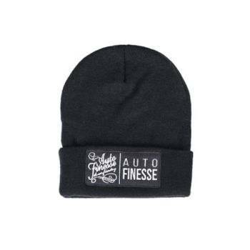 Auto Finesse - The Double Stack Beanie Black & White