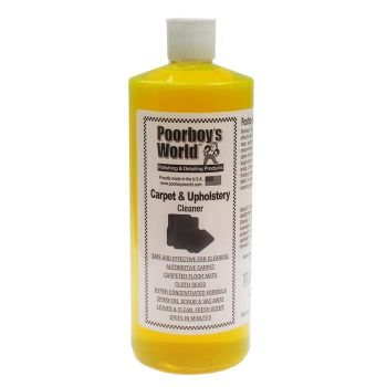 Poorboy's Carpet & Upholstery Cleaner