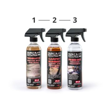 P&S - Carpet & Upholstery 3-Step Cleaning System