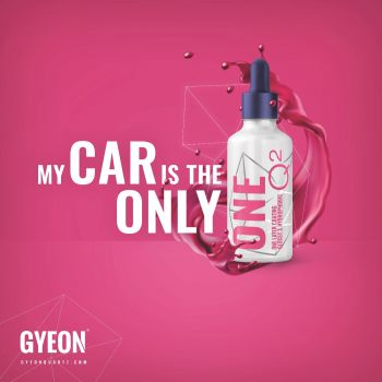 Gyeon Banner / My car is the only One 100 x 100