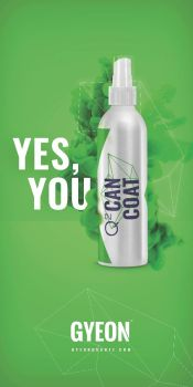 Gyeon Canvas banner stand / Yes, you Can Coat 100 x 200