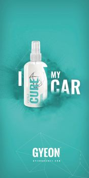 Gyeon Canvas banner stand / I Cure my car 100 x 200