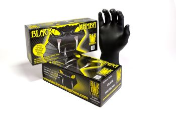 Black Mamba Nitril Gloves - L