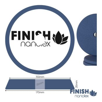 Nanolex - Finish Cut DA 150/170 mm