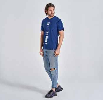 Gyeon T-shirt Navy Blue
