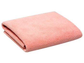 Swissvax Micro Absorb microfiber polishing cloth, roze