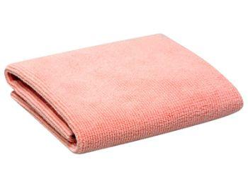 Swissvax Micro Absorb microfiber polishing cloth, roze
