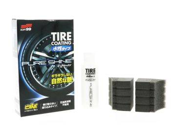 Soft99 Pure Shine Tire Coating - 100ml