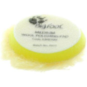 Rupes Yellow Medium Wool Polishing Pad - 70mm