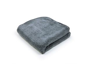 Swissvax Micro Fluffy Towel Grey